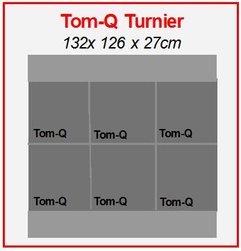 Tom-Q Turnier Bogen Zielscheibe