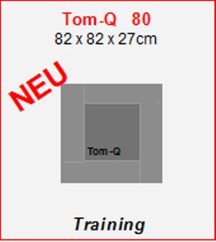 Tom-Q 80 Bogen Zielscheibe